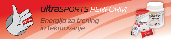 Ultrasports Perform: Energija za trening in tekmovanje